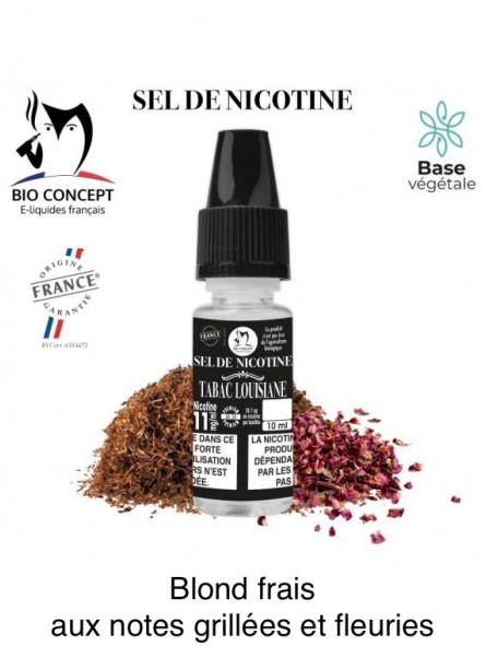E-LIQUIDE TABAC LOUISIANE AU SEL DE NICOTINE