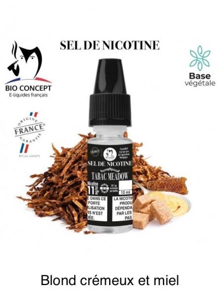 E-LIQUIDE TABAC MEADOW AU SEL DE NICOTINE