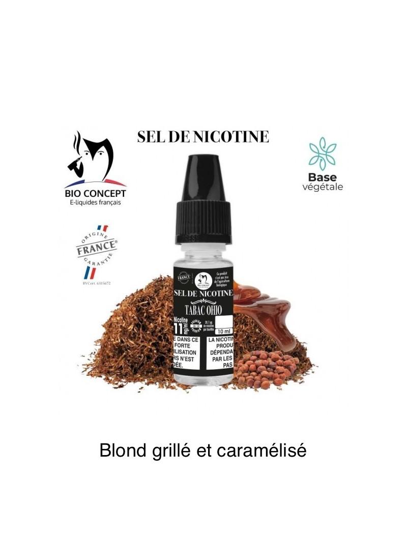 E-LIQUIDE TABAC OHIO AU SEL DE NICOTINE