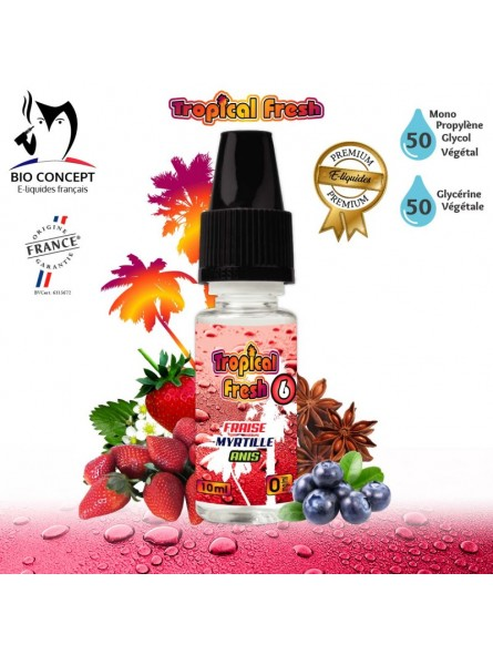 E-LIQUIDE TROPICAL FRESH 6
