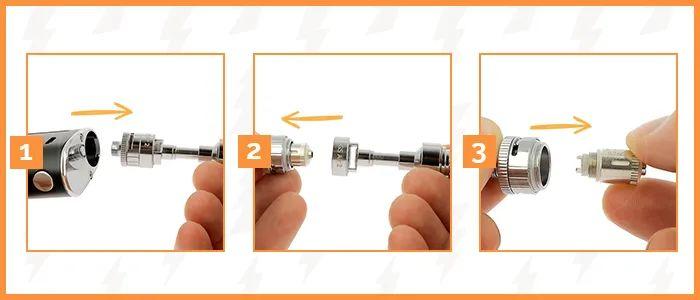 illustration cigarette electronique istick basic